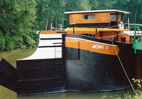 Vue arrière du Midway II