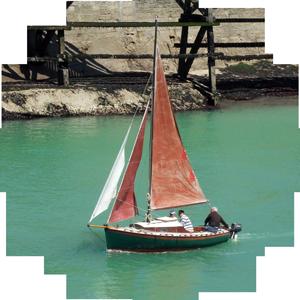 Aperçu du Quernet sortant du Port