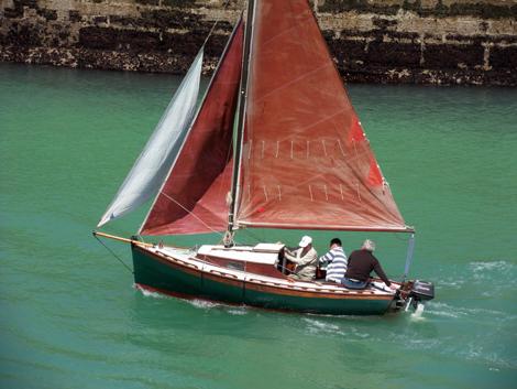 Le Quernet en pleine Navigation